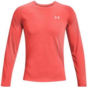 Under Armour Streaker Long Sleeve Shirt Men, czerwony